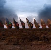 UFO Ranch. A Design, Illustration, Advertising, Installations, and 3D project by Curro  Astorza - 07-08-2013