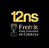 Premis Ràdio Associació de Catalunya. Un proyecto de Diseño de Samuel Herrera Pérez         - 08.08.2013