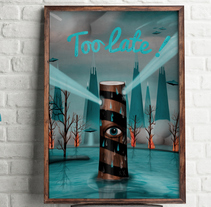 Too Late!. A Illustration project by Sergio Millan         - 04.09.2013