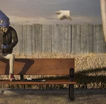 Un dia mas. A 3D project by Carlos Milanes         - 11.09.2013