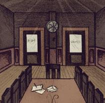 Escenografía. A Illustration project by Leyre Cerezal         - 13.09.2013