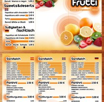 Folleto heladeria Tuttifruti. A Design, and Advertising project by Juan Jose Marin Rodriguez         - 16.09.2013