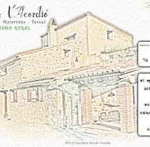 Casa de turismo rural Mas de l'Acordió. A IT project by Xavi Agut Carbó         - 18.09.2013