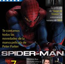 Ejemplo revista cine. A Design&Illustration project by Javier Agustín Mérida         - 19.09.2013