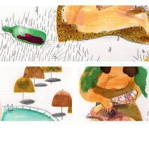 Mona . Un proyecto de Ilustración de Isabel  Vila Caballero - 22-10-2013