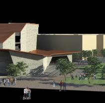 Colaboración en concursos de arquitectura con Fermak Arquitectos. A Design, Installations, and 3D project by Paris Alfonso Iserte         - 25.09.2013