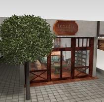 Realización 3D de la tienda Texotic . Un proyecto de Instalaciones y 3D de Nomadic Blink         - 01.12.2013