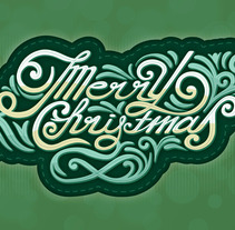 Merry Christmas. A Design&Illustration project by Dues Creatius          - 04.10.2013