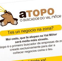Atopo.es. Un proyecto de Diseño e Ilustración de Enrique  Pereira Vázquez - Miércoles, 09 de octubre de 2013 19:05:00 +0200