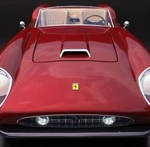Ferrari California 1960. A Design, and 3D project by Ana Burell         - 14.10.2013