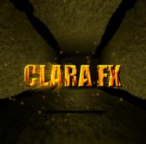 CLARA FX – Extruded letters. Um projeto de Motion Graphics e Cinema, Vídeo e TV de Clara Sagarra Valls         - 14.10.2013