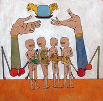 Tablillas del rey. A Illustration project by Diego Lamas López         - 16.10.2013