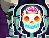 La comadre. Um projeto de Design e Ilustração de Carlos  Lezama McCarthy         - 20.10.2013