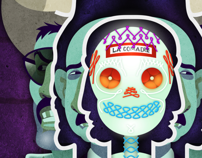 La comadre. A Design&Illustration project by Carlos Lezama McCarthy         - 20.10.2013