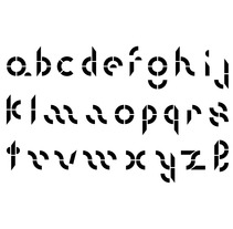 Más y más letras. A Design project by David A. Rittel Tobía (Sechzehn)         - 24.10.2013