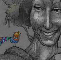 Árbol / Tree. Un proyecto de Ilustración de el ángel onicófago         - 28.10.2013
