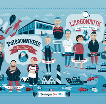 L'Argonaute. A Design, Illustration, and Advertising project by Rebombo estudio  - 28-10-2013