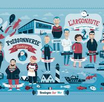 L'Argonaute. A Design, Advertising&Illustration project by Raúl Gómez estudio - Oct 28 2013 01:26 PM