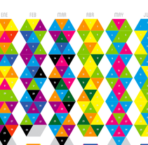 COLORcalendary. A Design project by Carolina Romero Hernández         - 29.10.2013