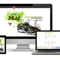 La Milla del Drac - Carrera popular. Um projeto de Design, Publicidade e Desenvolvimento de software de Albert Somoza Buscarons         - 05.11.2013