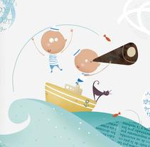 Líneas del Mar. Un proyecto de Ilustración de Cristina Planells del Barrio         - 13.11.2013