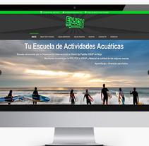 Diseño Web Escuela Sup Enjoy. A Design, Photograph, and Software Development project by Fernando Diez Colinas  - Nov 14 2013 01:37 PM