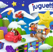 Juguettos Navidad 2012. A Design, Illustration, and 3D project by Másmadera          - 15.11.2013