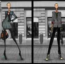 Street Mood Moda. Um projeto de Design de Luis Miguel Ramírez Valero         - 25.11.2013