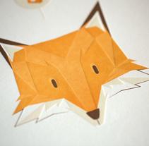 Fantastic Mr. Fox print. Un proyecto de Diseño e Ilustración de La Trastería  - 26-09-2013