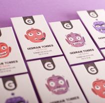 Wild Illustrator business cards. A Design&Illustration project by La Trastería  - 26-08-2013
