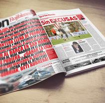 ADN Rojiblanco Journalism Works. Um projeto de Publicidade de Fran Fernández         - 15.11.2007
