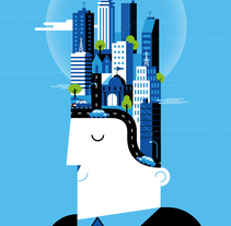 BBVA Ilustración Corporativa.. A Illustration project by Mᴧuco  Sosᴧ - 14-12-2013