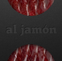 AL JAMON. PACKAGING&WEB. A Design project by Aitor Saló         - 02.12.2013
