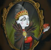 Madrastra. Un proyecto de Ilustración de Iván Torres         - 03.12.2013