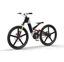AC e-bike. Um projeto de Design e 3D de Àlex Casabò         - 14.05.2013