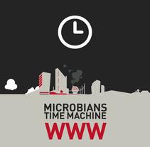 microbians / Time machine WWW. Un proyecto de Diseño de Gabriel Suchowolski - 10-12-2013