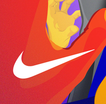 NIKE Sports. A Illustration, and Advertising project by Catarina Velosa - 12-12-2013