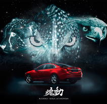 MAZDA 6 . A Advertising project by Nacho Gallego         - 18.12.2013