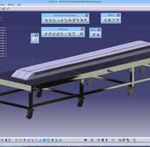 Diseño de Utillaje para fabricación de Larguerillos - Programa A380 - noviembre de 2013. Un proyecto de Diseño de Francisco Javier Palma Torres         - 12.01.2014