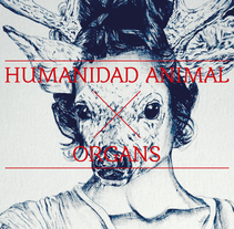 Exposición Humanidad Animal/Organs. A Design, Illustration, and Graphic Design project by J.J. Serrano         - 27.01.2014