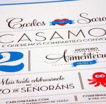 Invitaciones de boda originales, divertidas y exclusivas. Un proyecto de Consultoría creativa, Diseño y Diseño gráfico de Omán Impresores  - Miércoles, 29 de enero de 2014 00:00:00 +0100