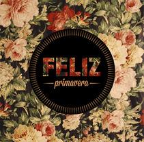 Feliz Primavera. A Graphic Design project by Julia Martínez Bonilla         - 08.02.2014