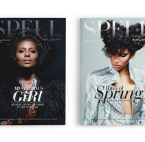 Spell Magazine. A Editorial Design project by Roberto Mesa - 02.17.2013