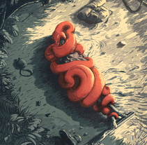 Constrictor. A Illustration, Film, Video, TV, and Painting project by Juan Esteban Rodríguez         - 19.02.2014
