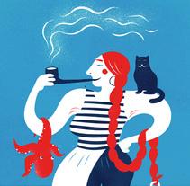 Dona Capitona. A Illustration project by Stiliana Mitzeva         - 19.02.2014