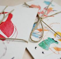 Postales. Un proyecto de Ilustración de eva carot         - 24.02.2014
