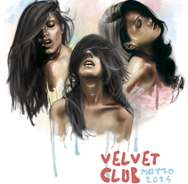 VELVET CLUB. A Illustration project by Marc  Valls         - 24.02.2014