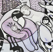 Friend, boyfriend, father, grandfather. Un proyecto de Ilustración y Bellas Artes de Sonia Alins Miguel - 02-03-2014