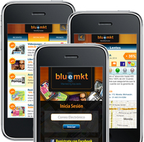 Diseño de Bluemkt App. Um projeto de Desenvolvimento de software, UI / UX e Design interativo de Ineshi  - 02-03-2014