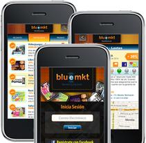Diseño de Bluemkt App. A Software Development, UI / UX&Interactive Design project by Ineshi         - 02.03.2014